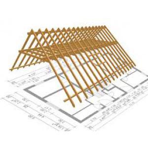 návrh krovu